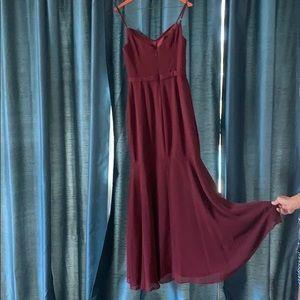 Azazie Dresses - Azazie bridesmaid dress in Cabernet